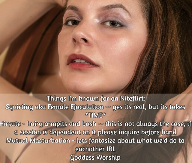 Things Im Known For On Niteflirt